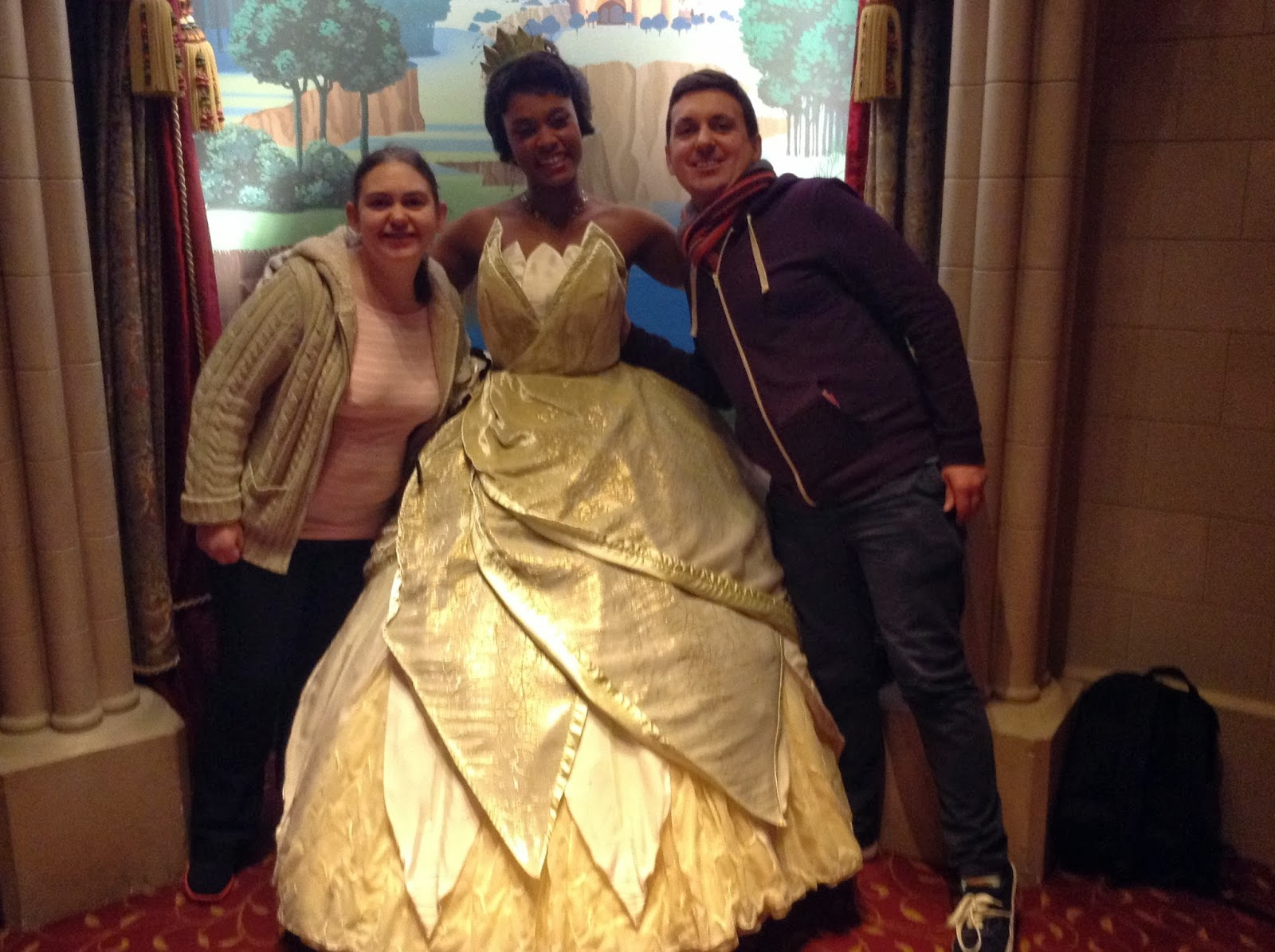 Our take on life magic of disney tiana from princess and the frog was the princess of the moment we were both amazed how well she kept in character for the duration of our visit with her m4hsunfo