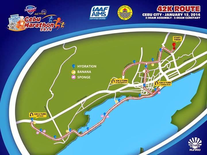 Cebu-Marathon-2014-Route-42k
