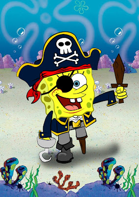 SpongeBob Squarepants pirate