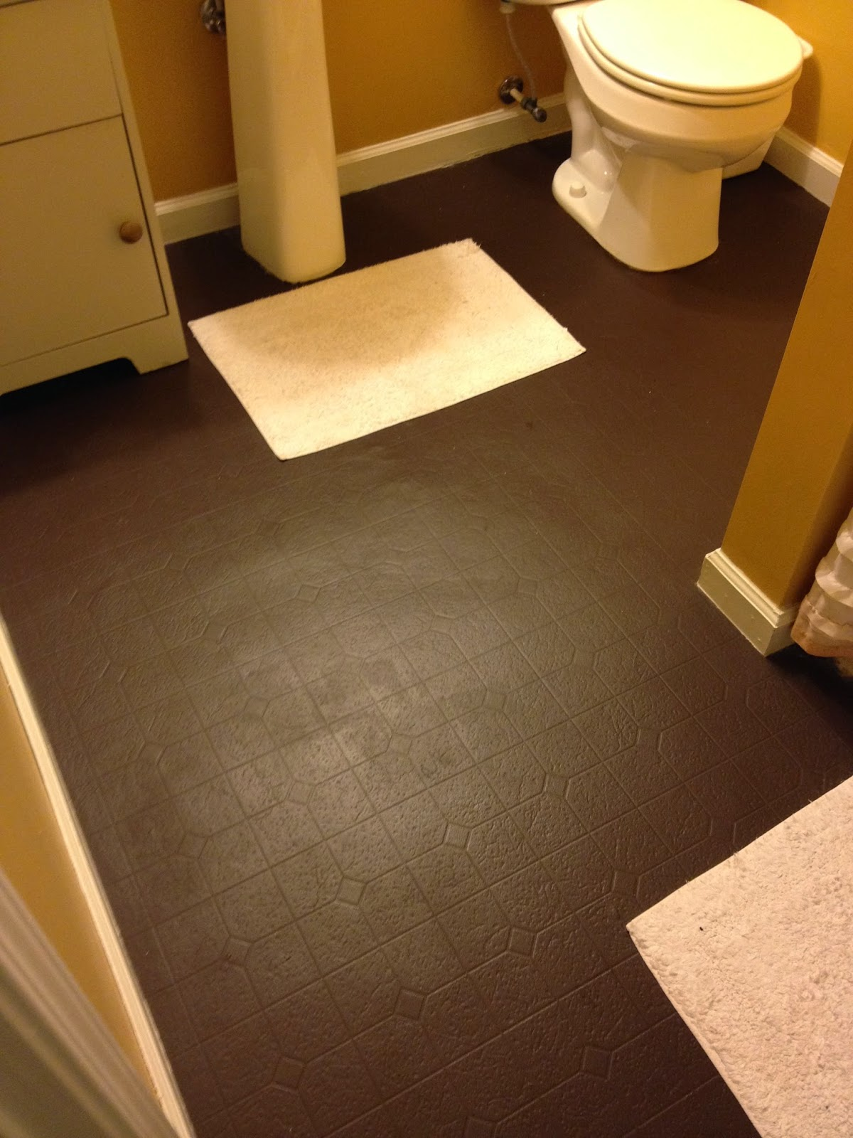 How long will painted vinyl floors last aprons and for Painting kitchen floors vinyl