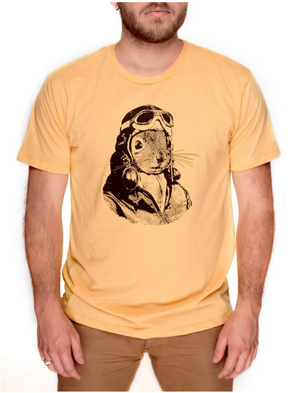 Flying Squirrel Shirt in Aviator Clothing