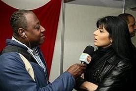 Jornalista : Nelson Silva entrevista a Cantora Gospel -FERNANDA BRUM