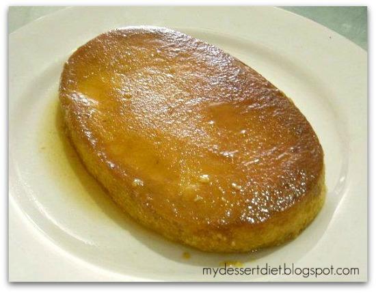 Pumpkin flan - for diabetics