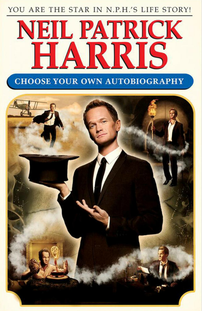choose your own autobiography by neil patrick harris book