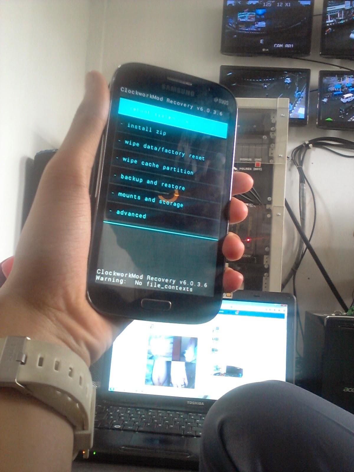 Cara ROOT dan pasang CWM di Samsung Galaxy GRAND Duos TANPA PC ...