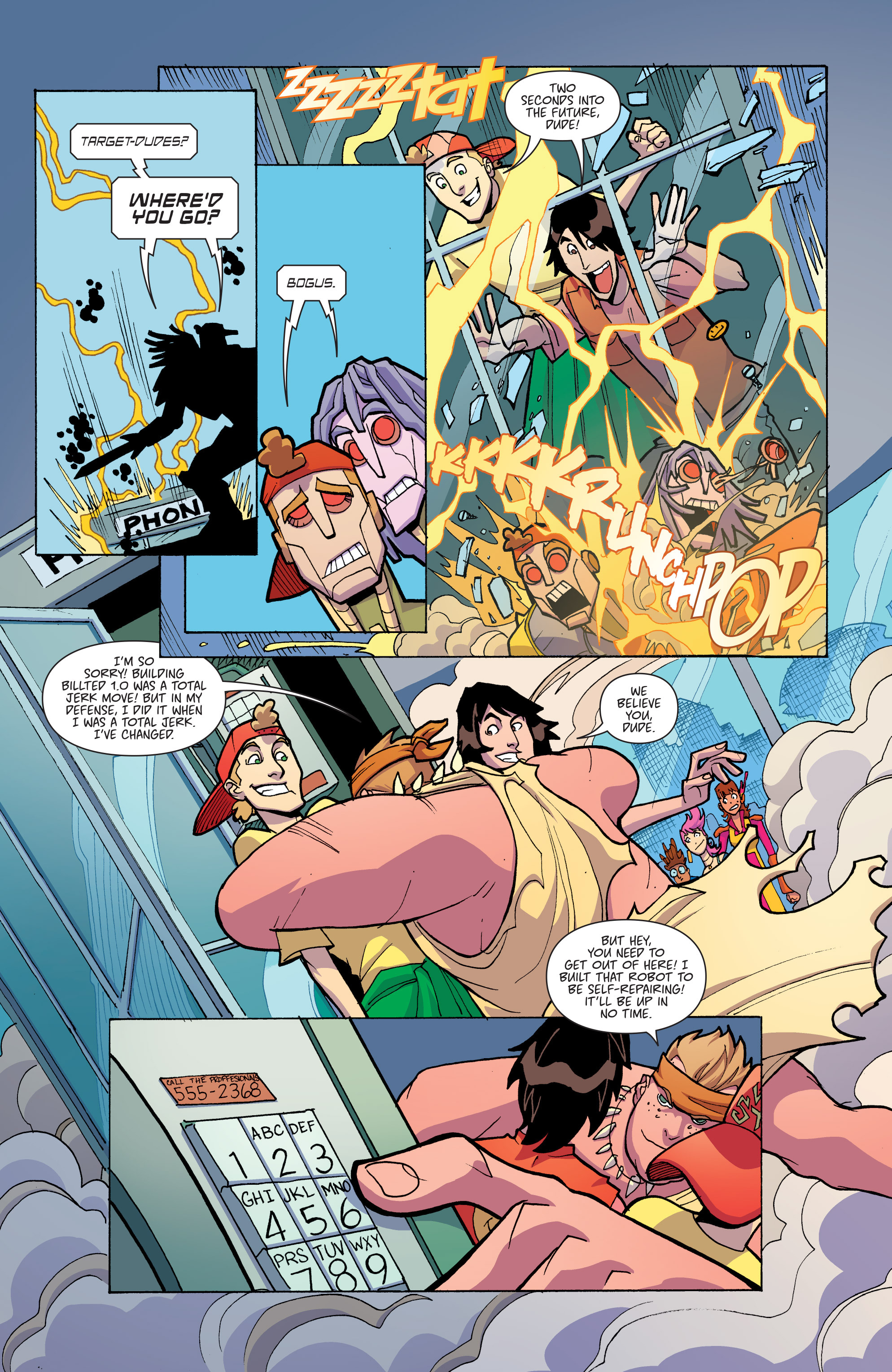 Read online Bill & Ted's Most Triumphant Return comic -  Issue #3 - 15