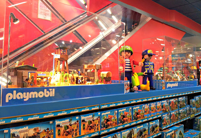 Hamleys, London, Toys, Playmobil
