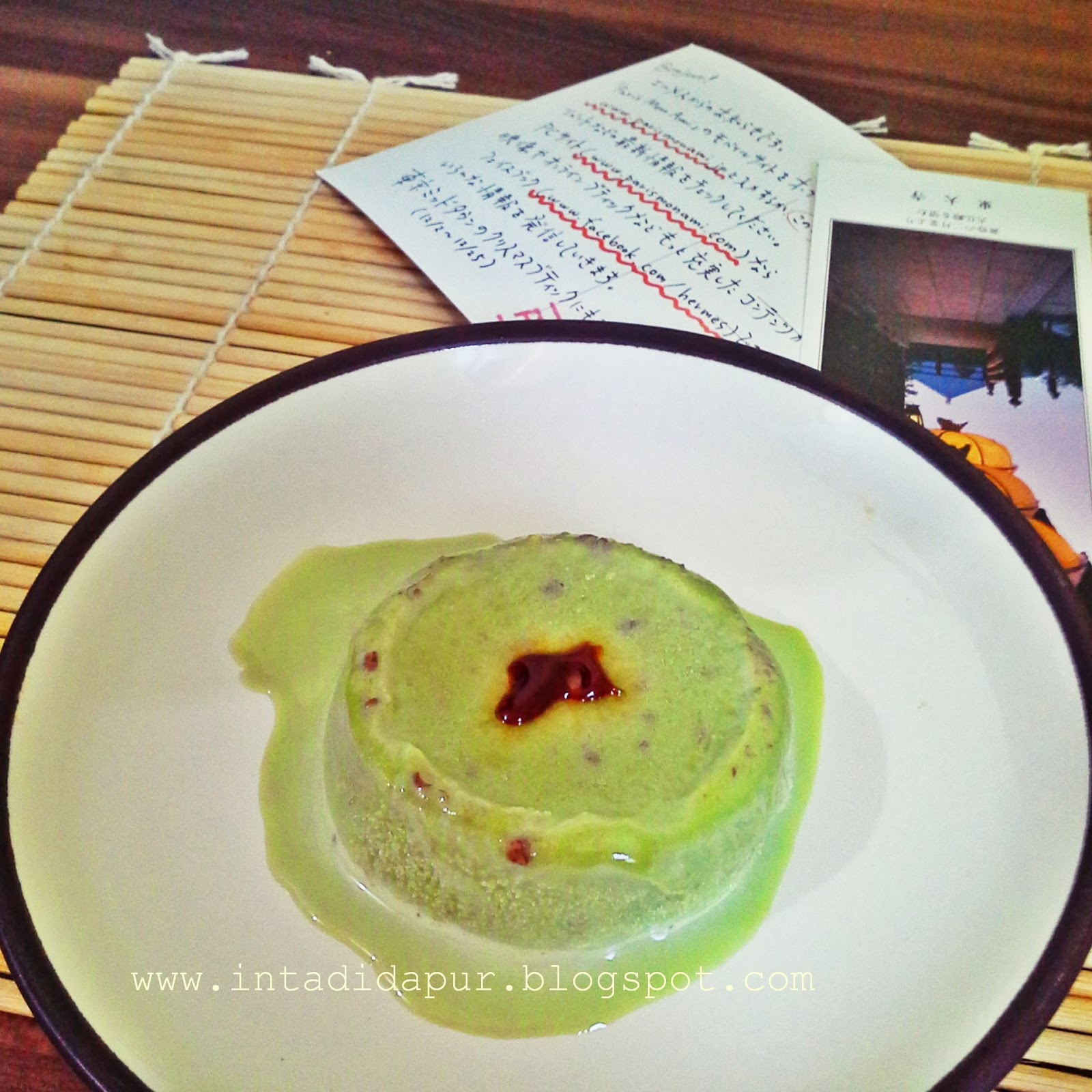 Having fun in the kitchen: Matcha Ogura Ice Cream