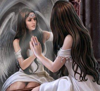 Bloganna25 for Regard dans le miroir que tu vois