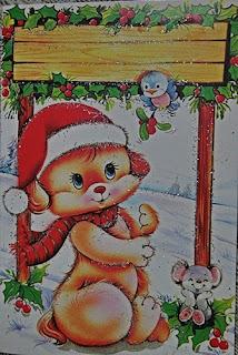 Yeni Yıl Kartpostal