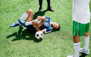 Entorses do joelho e Tornozelo no Futebol