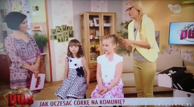 TV Puls - Uczesanie na I Komunię Święta