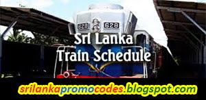 Sri Lanka Train Schedule