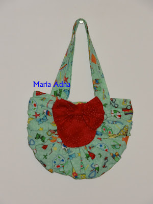 textile child little bag, fabric infant bag, bolsinha para criança