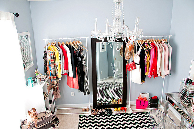 turning a bedroom into a closet. I have an all black dresser in my room that is almost exactly this size  Right now it s ugly flat but plan on buying some hi gloss and FaCE FASHiON LiFE Turning a Room into Closet
