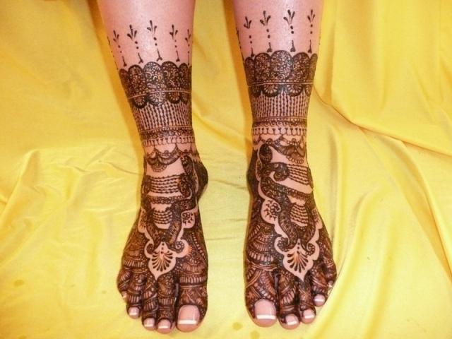 Feet Mehndi Designs Photos : Latest feet mehndi designs for eidliteratura por un tubo