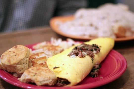 breakfast at Hoot Owl Cafe Sandpoint Idaho
