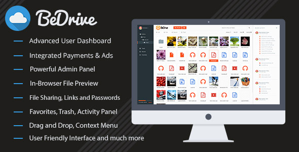BeDrive v1.4 – File Sharing and Cloud Storage