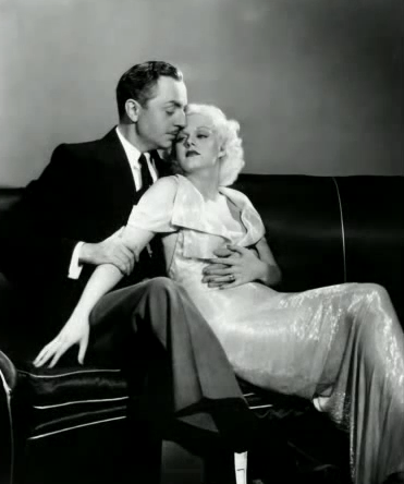 Publicity shot for Reckless, Harlow and Powell