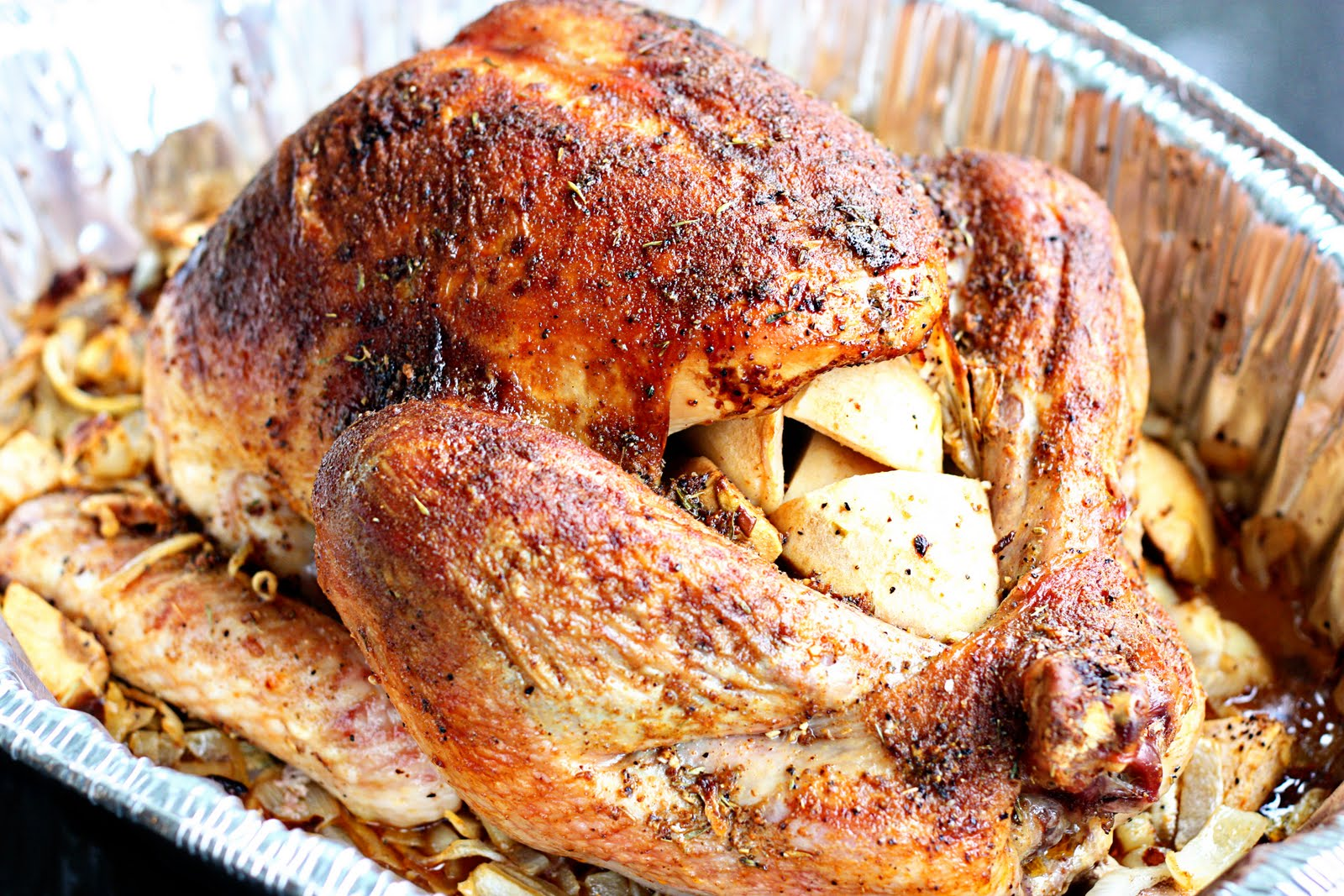 Delightful Bitefuls: Spice-Rubbed Turkey