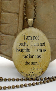 Hunger Games jewelry: Katniss quote