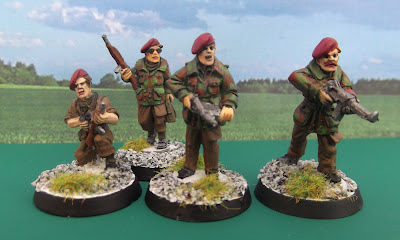 Weird War II, Miniature painting, wargaming, roleplaying