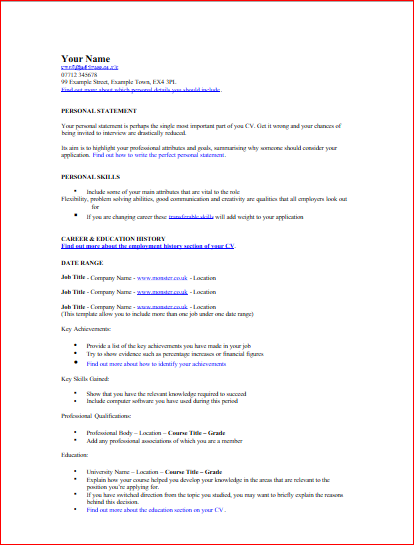 combination resume template free resume templates sales