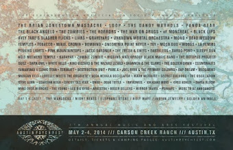 Austin Psych Fest – May 2-4, 2014 Weekend passes, deluxe upgrades and camping passes on sale NOW!