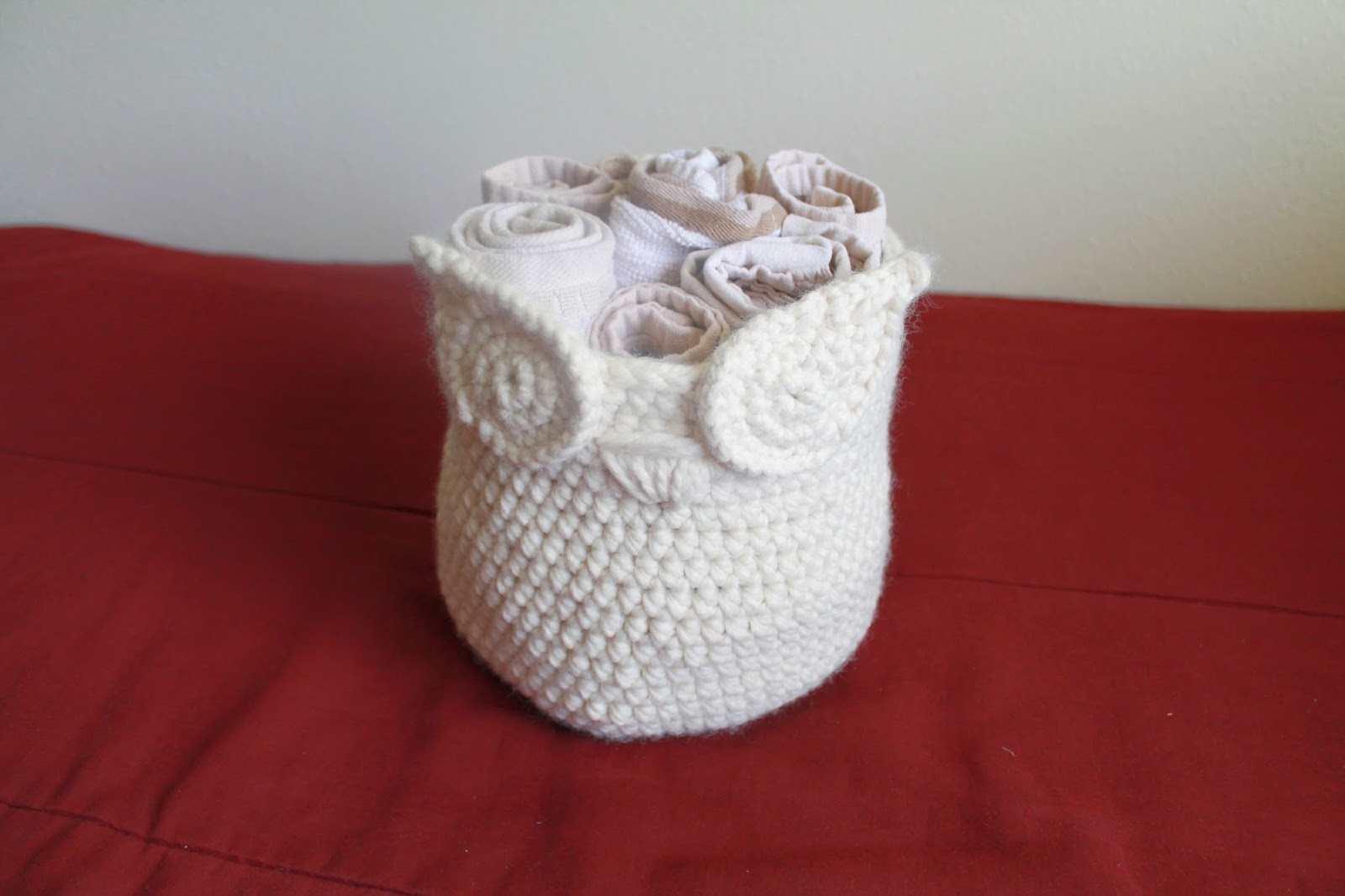 Crochet Owl Basket : Owl Basket Crochet Pattern Instant Bag Bowl Bowtykes Pictures