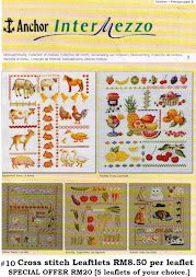 Special Offer Cross Stitch Leaftlets
