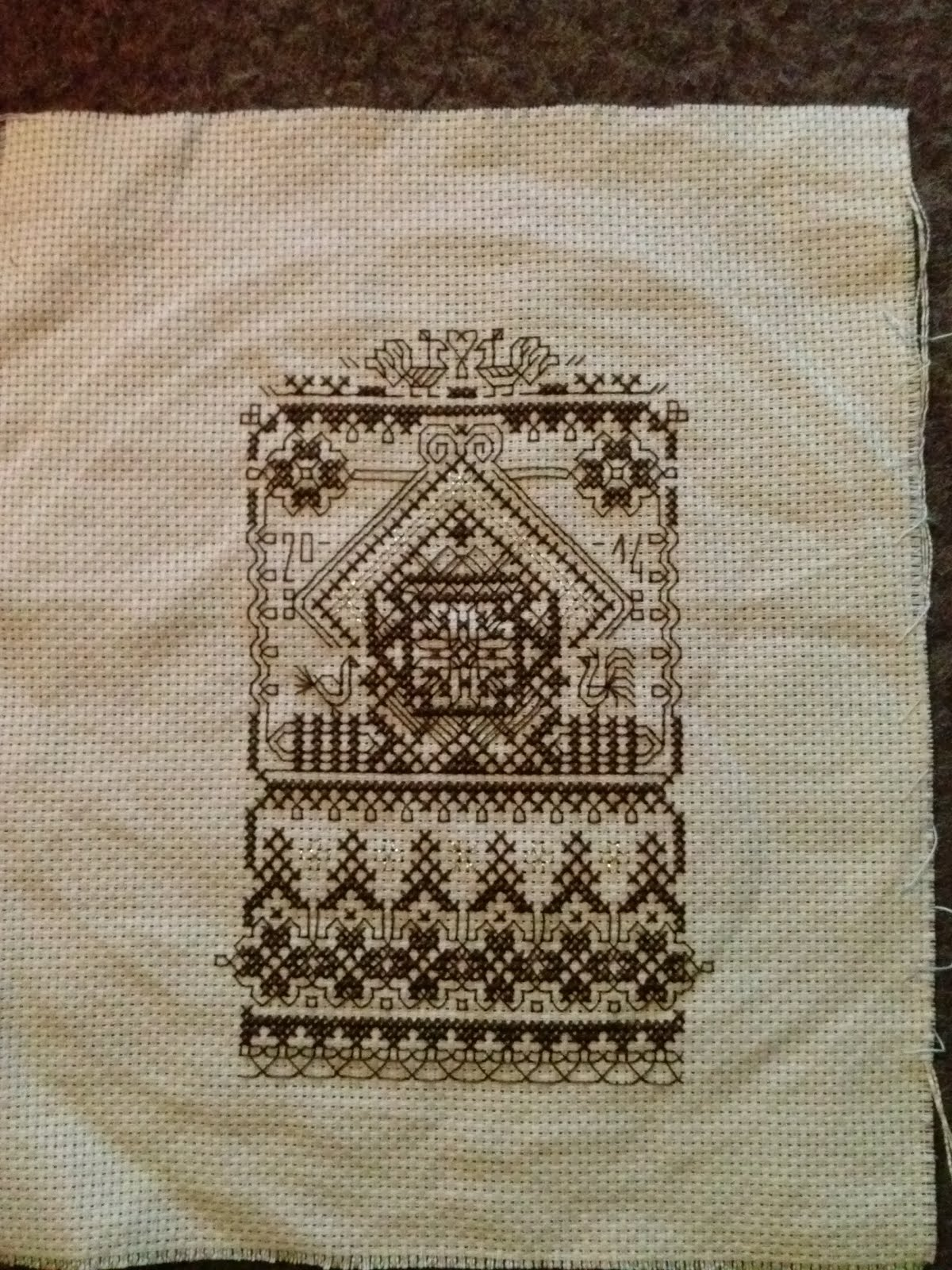 Chatka (sampler blackworkowy)