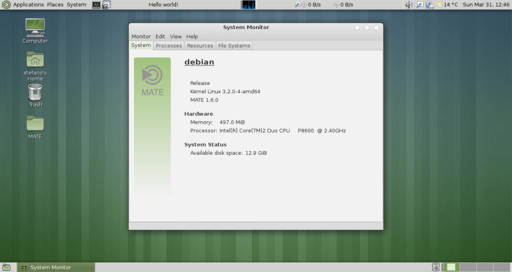 Instalar escritorio Mate 1.6 en Ubuntu 13.04, escritorio 1.6 mate