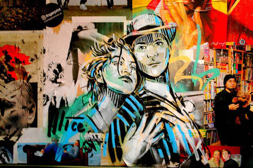alice pasquini - street art - graffiti