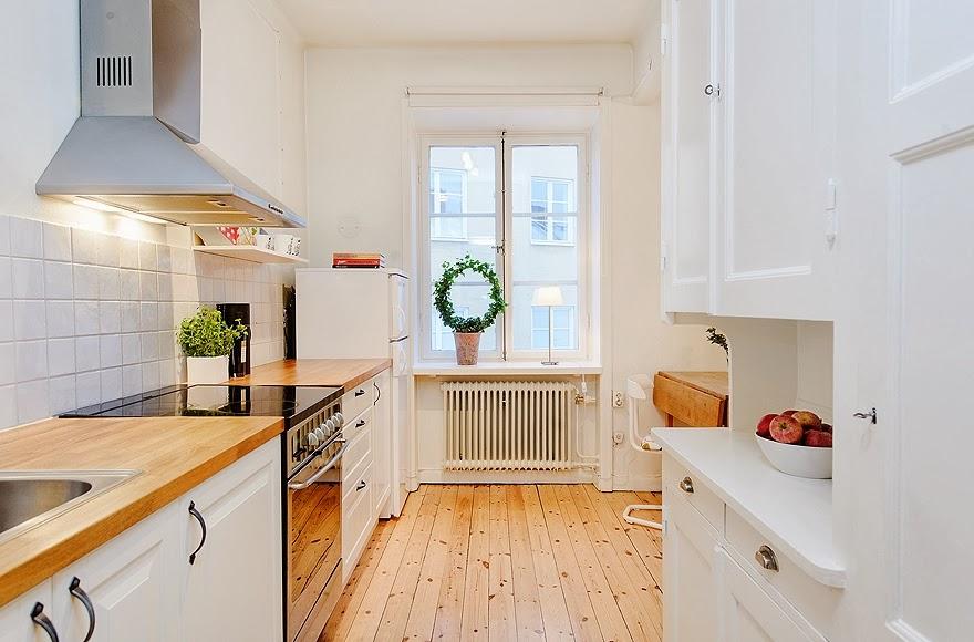 Idea dorothea un coqueto apartamento femenino for Paredes focales