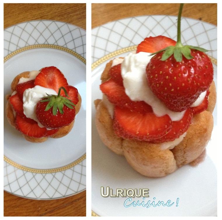 ulrique cuisine charlotte aux fraises light et rapide. Black Bedroom Furniture Sets. Home Design Ideas