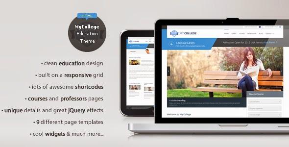 Fitur Template Wordpress untuk Sekolah
