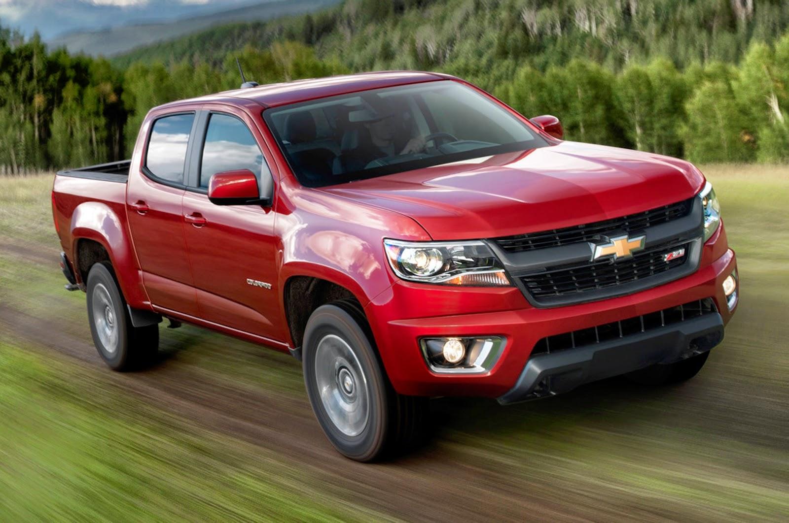 2015 Chevy Colorado Is Midsize Pickup Fuel Economy Leader
