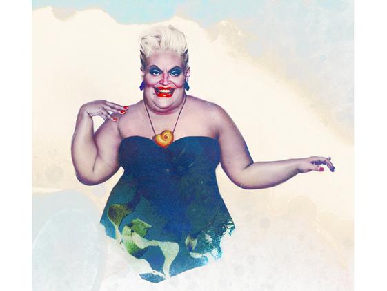 Ursula, A Pequena Sereia.