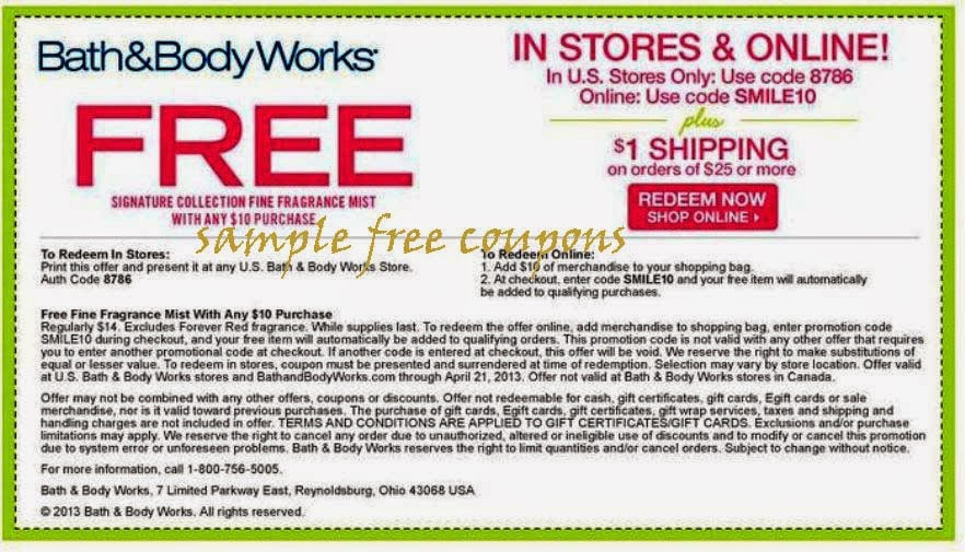 Bathandbodyworks.com coupon code
