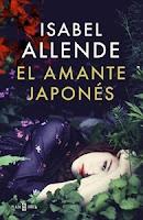 Ranking Semanal. Número 1: El amante japonés, de Isabel Allende.