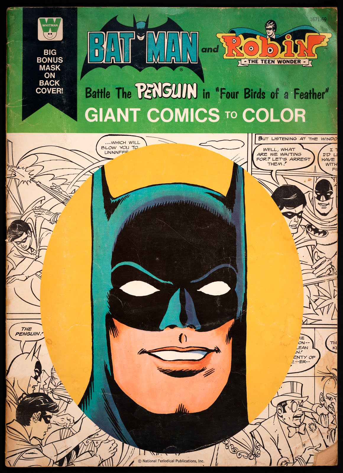 Batman Collection: Giant Whitman Coloring Books
