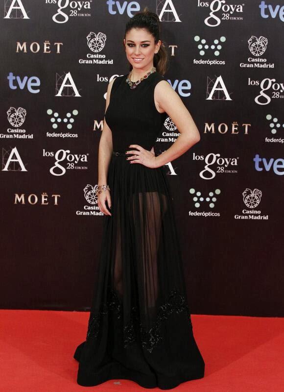BLANCA SUAREZ GOYAS 2014