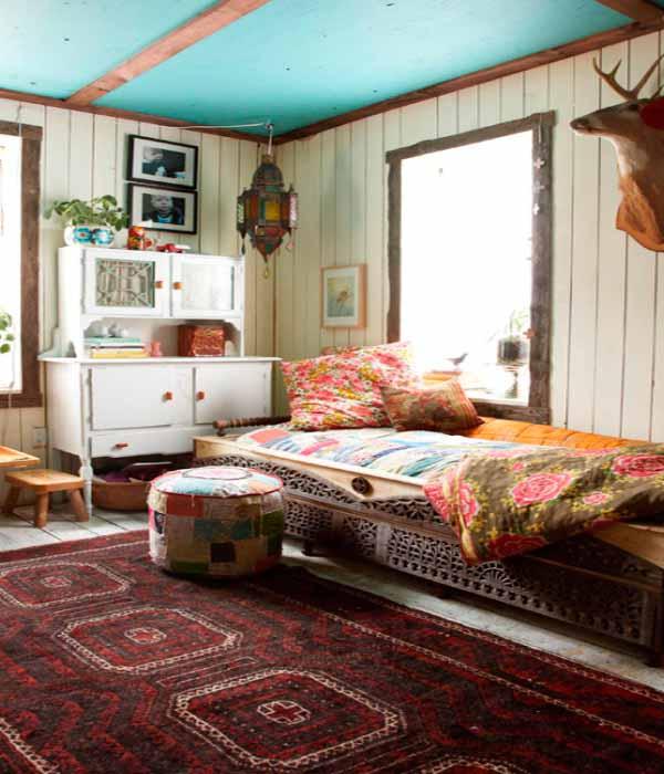 Ideas de dise o de dormitorios bohemios decorar tu - Ideas decoracion dormitorio ...