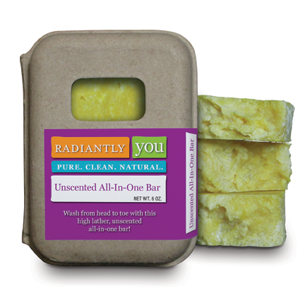Unscented All-In-One Bar by Radiantly You