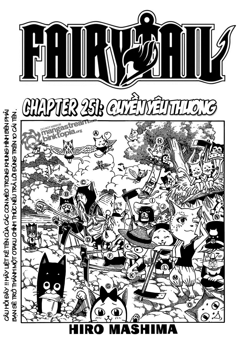Fairy Tail chap 251 page 1 - IZTruyenTranh.com