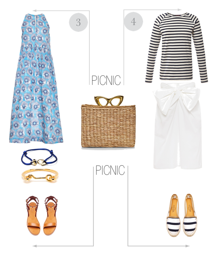 bittersweet colours, moda operandi, sale, picnic outfit, Beach day outfit, Charlotte Olympia bag, nicholas kirkwood shoes, MSGM SKIRT, valentino sandals, suno dress, current elliott jeans, equipment shirt,