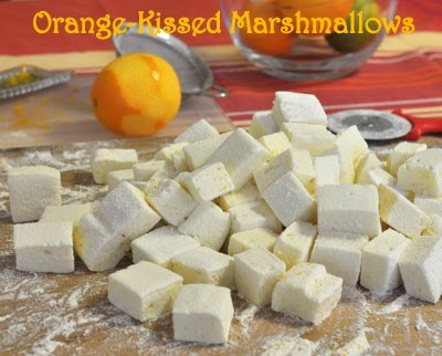 Orange-Kissed Marshmallows