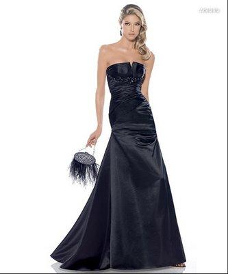 Modelos de peinados para vestidos largos