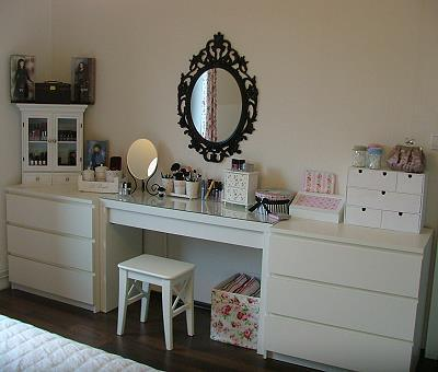 blog estilo d cor post sob encomenda penteadeiras. Black Bedroom Furniture Sets. Home Design Ideas