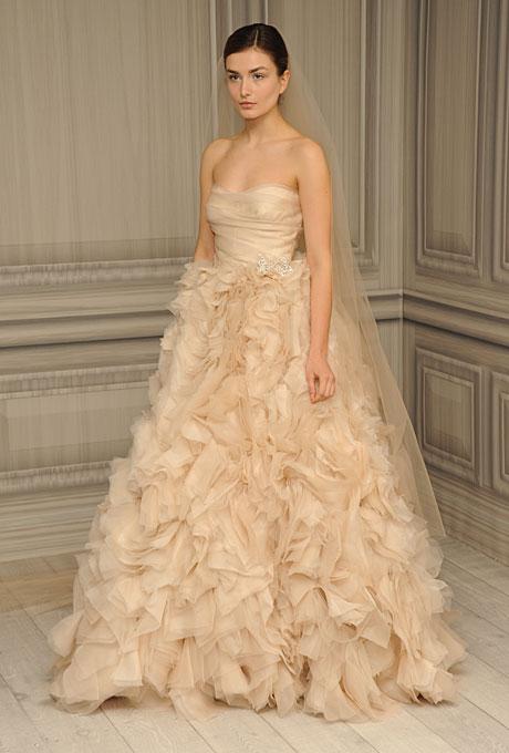 Monique Lhuillier 2012 Spring Wedding Dresses Collection